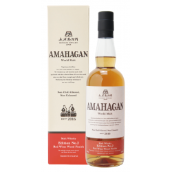 Whisky Amahagan edition No 2 red wine 70cl- Whisky and rum selection